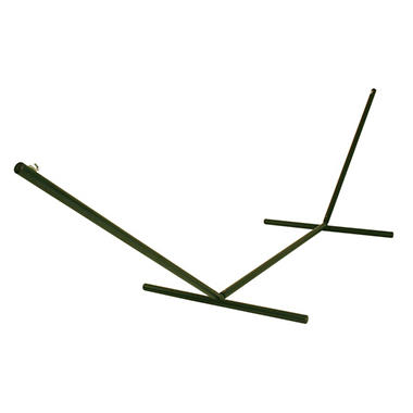Tri-Beam® Steel Forest Green Textured Hammock Stand