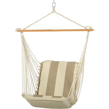 Regency Sand Cushioned Single Swing