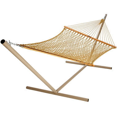 Duracord Rope Hammock - Tan