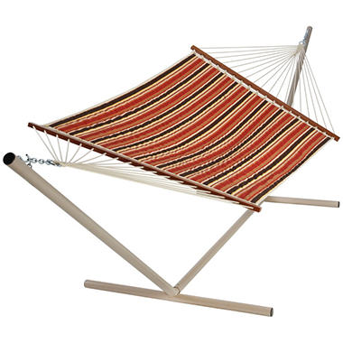 Patio Stripe Quilted Hammock