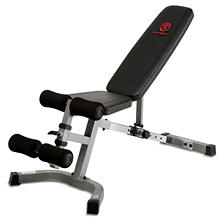 Adjustable Utility Exercise Bench