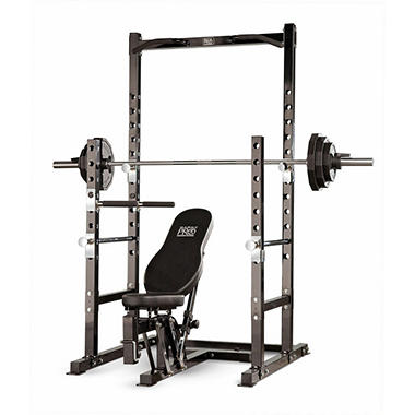 Marcy Pro Power Rack & Bench