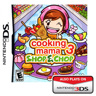 Cooking Mama 3 Shop & Chop - NDS