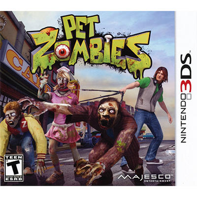 Pet Zombies - 3DS