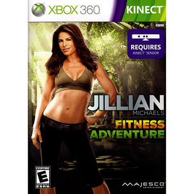 Jillian Michaels Fitness Adventure - Xbox 360 Kinect