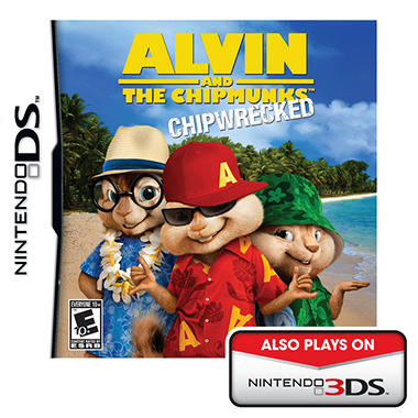 Alvin and the Chipmunks: Chipwrecked - NDS