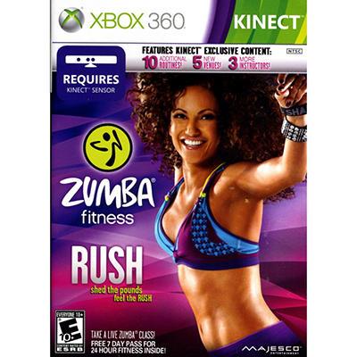 Zumba Fitness Rush - Xbox 360 Kinect