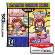 Mama's Combo Pack Volume 2 Cooking Mama 2: Dinner with Friends & Crafting Mama - DS