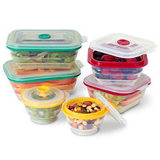 Collapse-it Food Storage & Cooking Containers  12-Pack