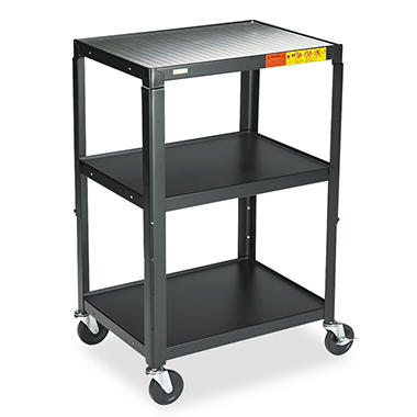 Bretford 5-in-1 Standard Adj. AV Cart - Black