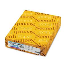 Neenah Paper - Classic Crest Fine Paper, 24lb, Natural White - Ream