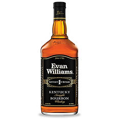 Evan Williams Black Label Bourbon (1.75 L)