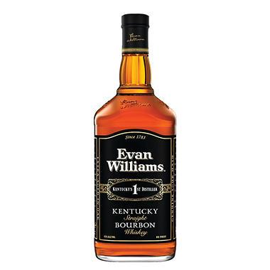 EVAN WILLIAMS 1.75L BLACK LABEL BOURBON