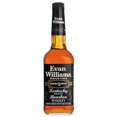 Evan Williams Black Label Bourbon (1L)