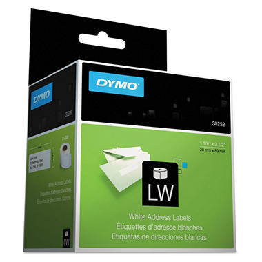 DYMO LabelWriter - 30252 Address Labels, White - 700 Labels