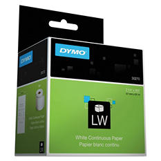 DYMO - Thermal Receipt Roll Paper, 2 1/2 x 300 -  White