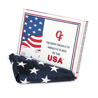 Advantus All-Weather Outdoor U.S. Flag - 3 ft. x 5 ft.