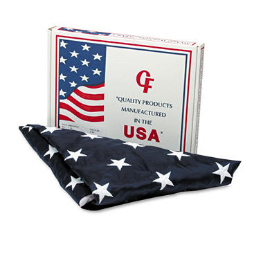 Advantus All-Weather Outdoor U.S. Flag, 4 ft. x 6 ft.