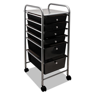 Advantus Portable 6 Drawer Organizer