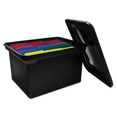 Advantus� File Tote Storage Box