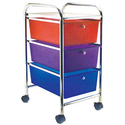 Cropper Hopper Home Center Rolling Cart - 3 Drawer