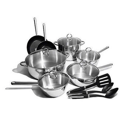 Century 21 by Classicor Cookware Set - 15 pc.