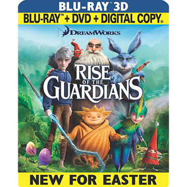 Rise Of The Guardians (3D Blu-ray + Blu-ray + DVD + Digital Copy) (Widescreen)