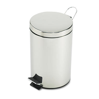 Rubbermaid Medi-Can? Step Can - Stainless Steel - 3.5 Gallon