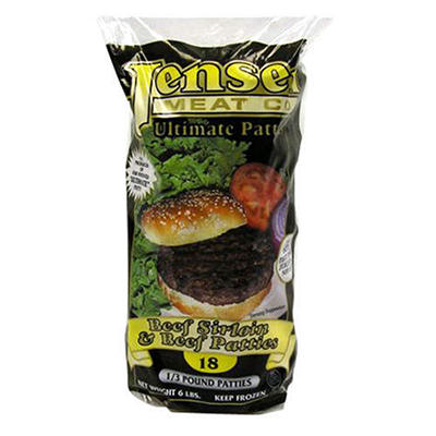 Jensen Sirloin Beef Patties 6lbs.