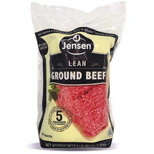 Jensen Ground Beef (1 lb. ea., 5 ct.)
