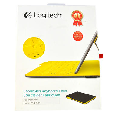 LOGITECH FABRIC SKIN KEYBOARD IPAD AIR