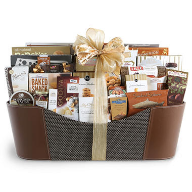Executive Gourmet Holiday Gift Basket
