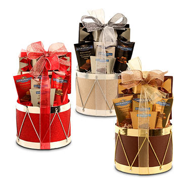 Ghirardelli Drum Holiday Gift Basket