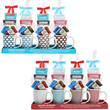 Spread Joy Mug Gift Sets - Green Diamond - 4 pk.