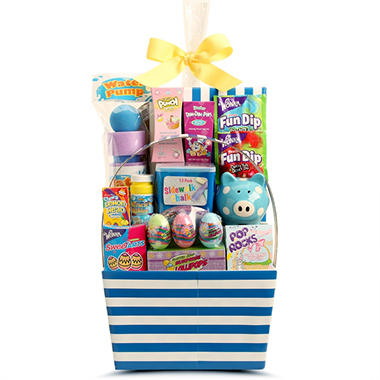 Jumbo Easter Baskets - Pink or Blue