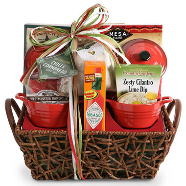 Chili Basket Gift Set