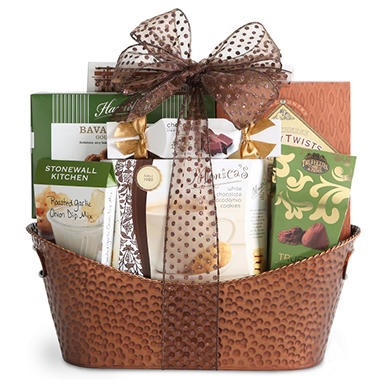 Gourmet Select Gift Basket - Copper