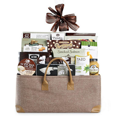 Enchanting Collection Gift Basket - Tan