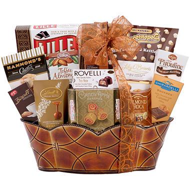Copper Gift Basket