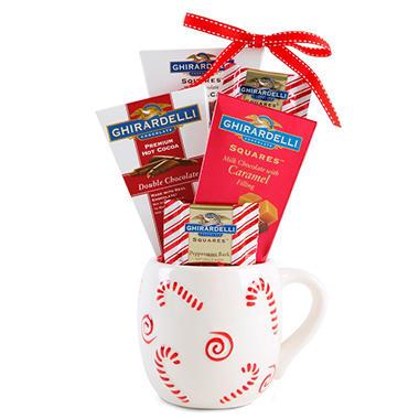 Ghirardelli Mug Gift Set