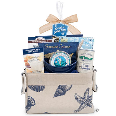Coastal Themed Gift Pack in Fabric Tote