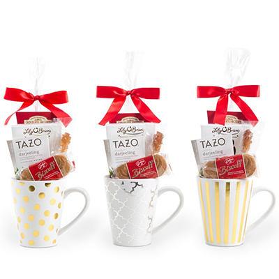 Three Designer Gift Mugs