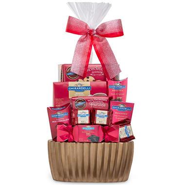 Ghirardelli Gift Basket