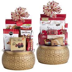 Lunar New Year Lantern Gift Basket