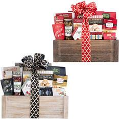 Gourmet Favorites Planter Gift Basket