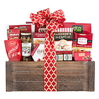 Gourmet Sweet and Savory Favorites Gift Basket