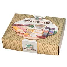 Hillshire Farms Gold Gift Basket