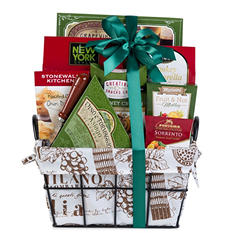Metal Wire Savory and Sweet Gift Basket
