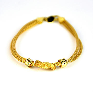Love, Earth® 14K Yellow Gold Knot Bracelet