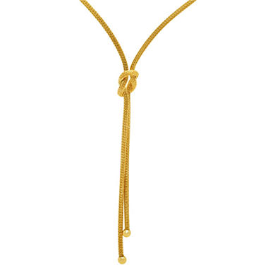 Love, Earth® Knot Necklace in 14K Yellow Gold